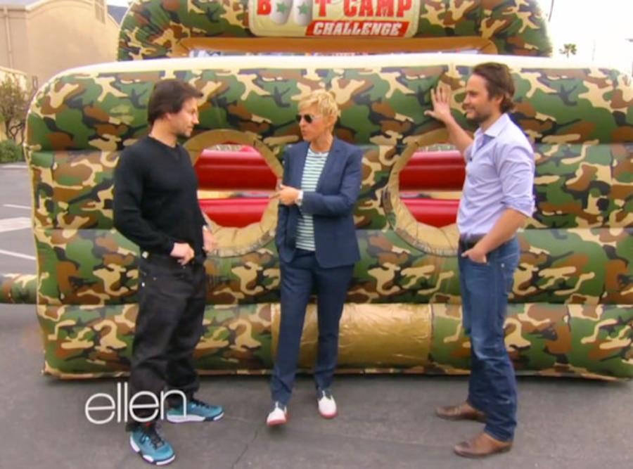 Mark Wahlberg, Taylor Kitsch, Ellen Degeneres Show