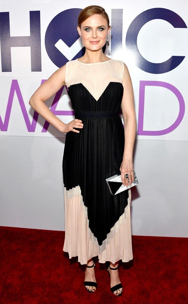 Emily Deschanel, People's Choice Awards