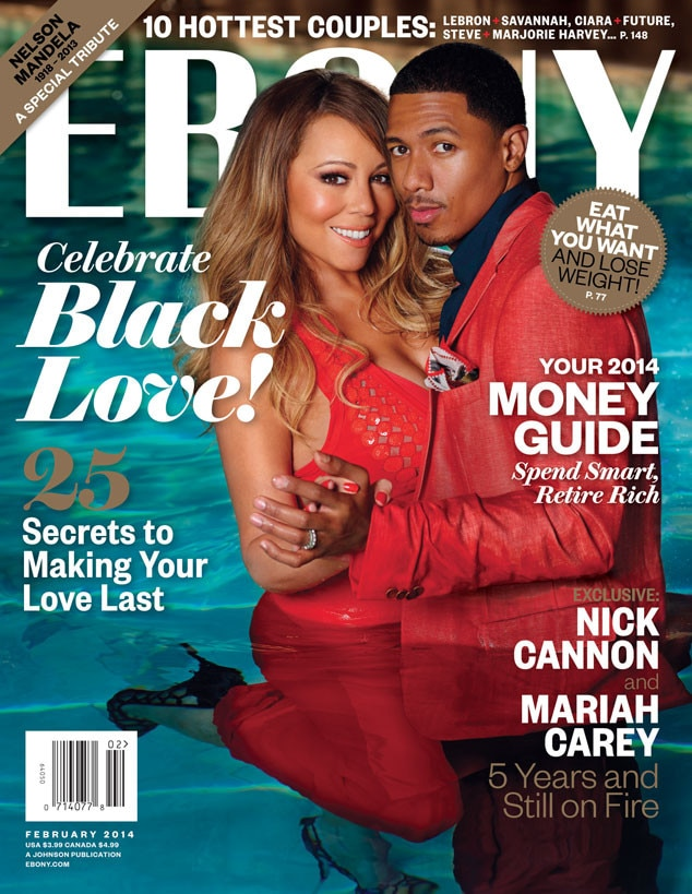 Ebony Magazine, Mariah Carey, Nick Cannon