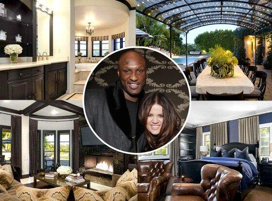 Khloe Kardashian, Lamar Odom, Home