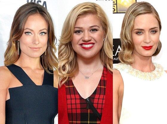 Emily Blunt, Kelly Clarkson, Olivia Wilde