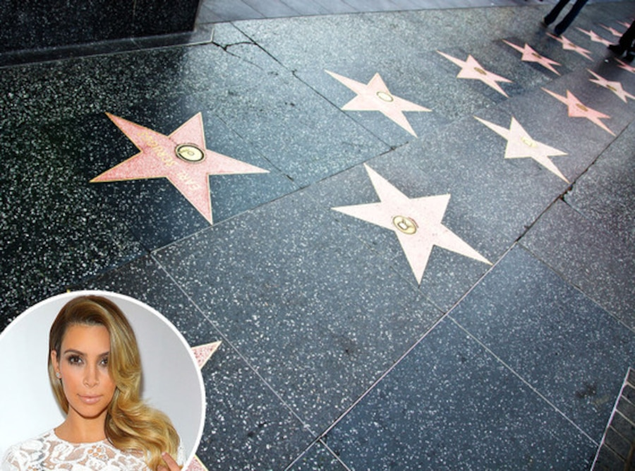 Kim Kardashian, Hollywood Walk of Fame