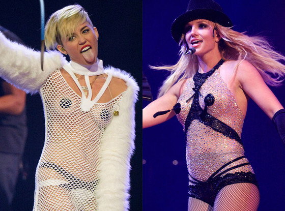 Miley Cyrus, Britney Spears