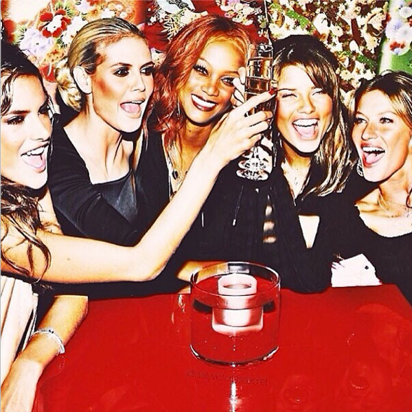 Alessandra Ambrosio, Heidi Klum, Tyra Banks, Adriana Lima, Gisele Bundchen