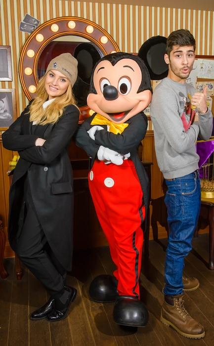 Zayn Malik, Perrie Edwards, Disney