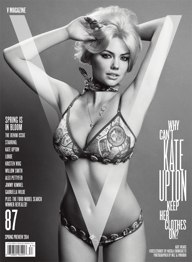 Kate Upton, V Magazine Cover