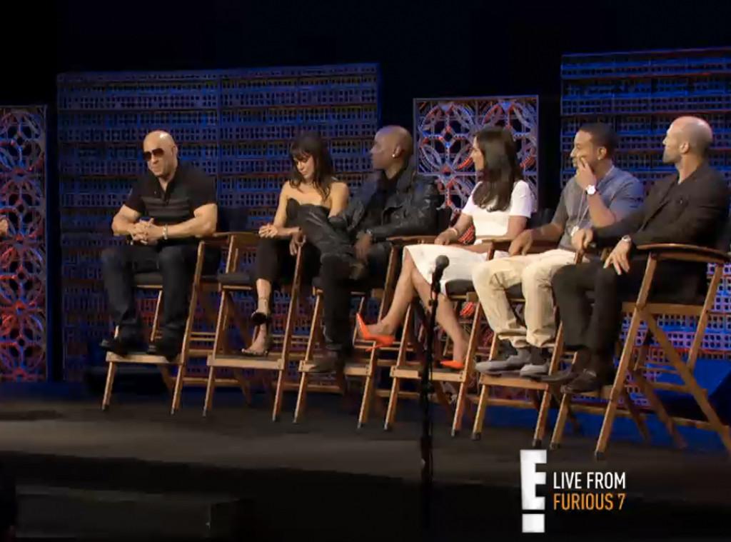 Vin Diesel, Michelle Rodriguez, Tyrese, Jordana Brewster,  Ludacris, Jason Statham
