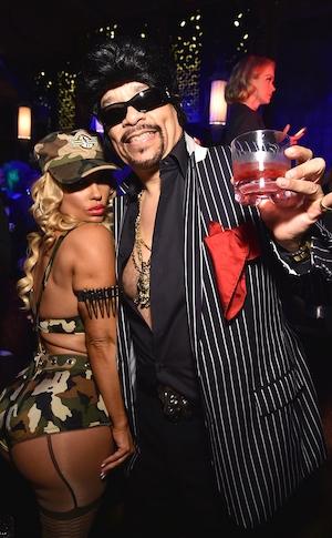 Coco Austin, Ice T, Halloween