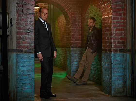 Clark Gregg, Nick Blood, Marvel's Agents of S.H.I.E.L.D.