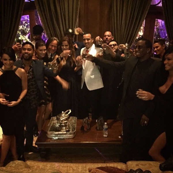 French Montana Birthday Party, Instagram