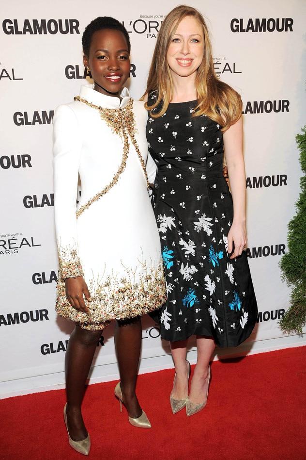 Chelsea Clinton, Lupita Nyong'o