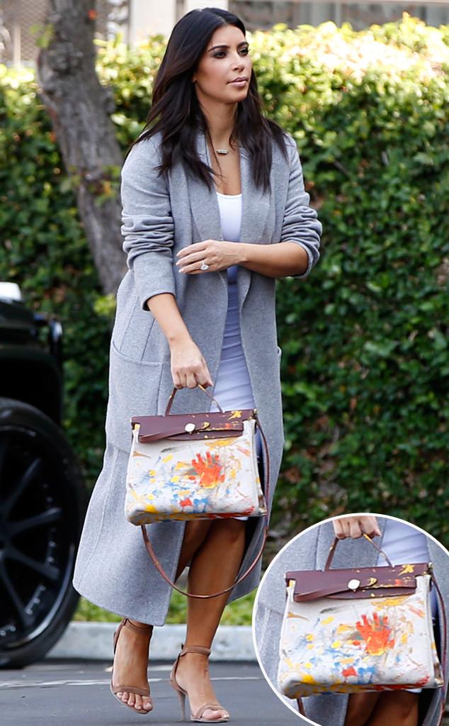 Kim Kardashian, Painted Purse