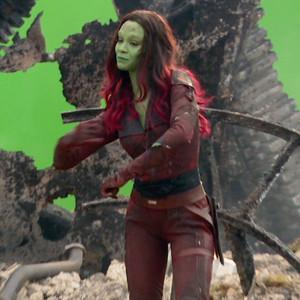 Guardians Of The Galaxy S Chris Pratt Zoe Saldana Face