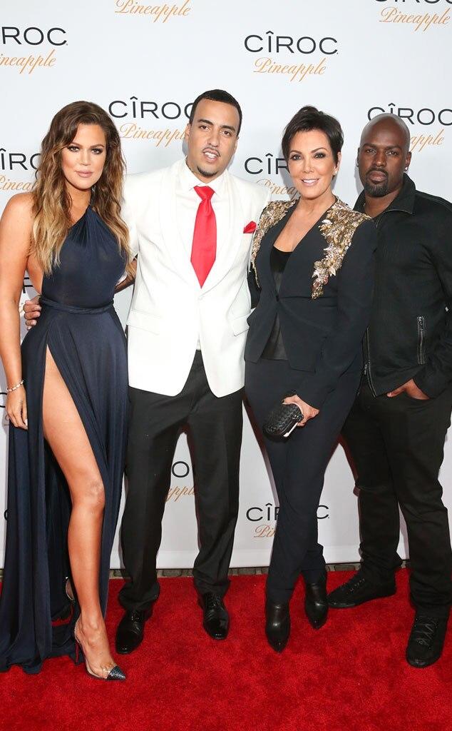 Khloe Kardashian, French Montana, Kris Jenner, Corey Gamble
