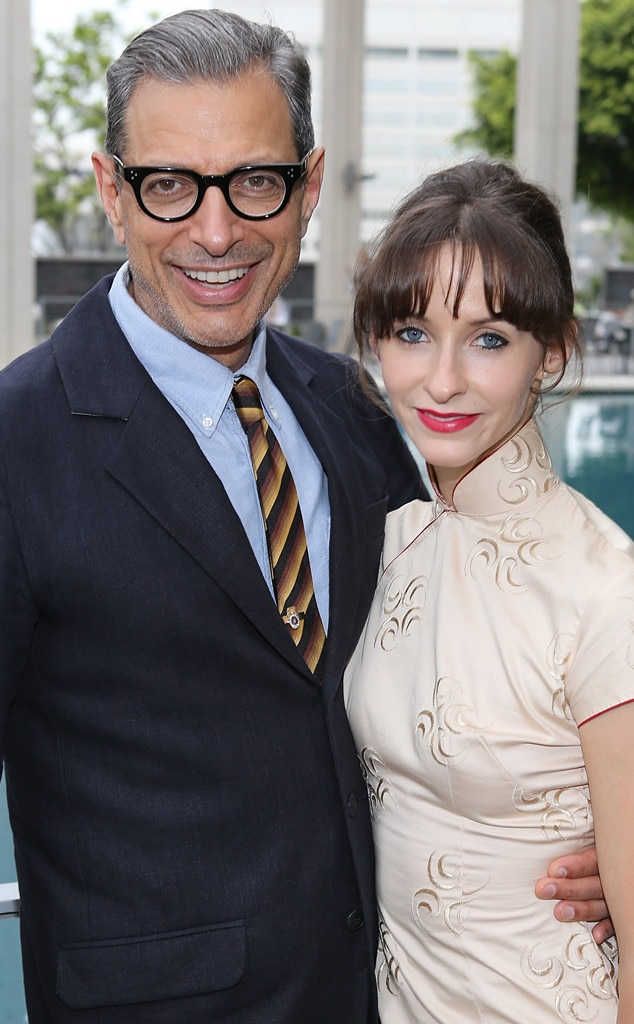 Jeff Goldblum, Emilie Livingston