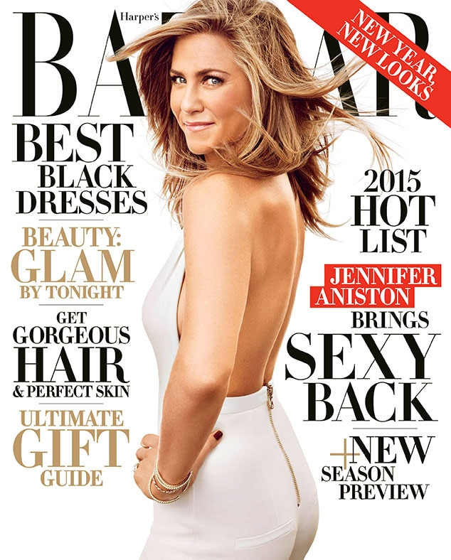 Jennifer Aniston, Harper's BAZAAR