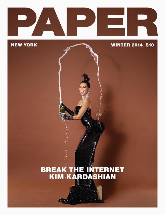 Kim Kardashian, Paper Magazine, Iconic Celeb Photos