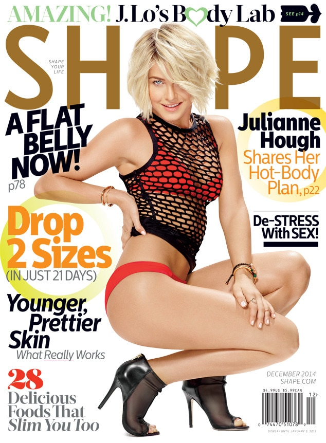 Julianne Hough, Shape Magazine