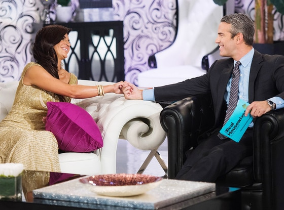 Teresa Giudice, Andy Cohen, Real Housewives of New Jersey