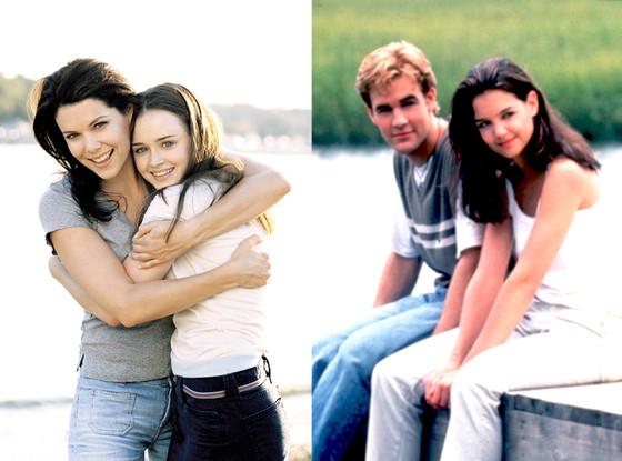 Gilmore Girls, Dawson's Creek
