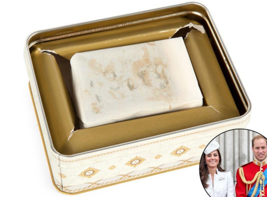 Prince William, Duchess Catherine, Kate Middleton, Wedding Cake