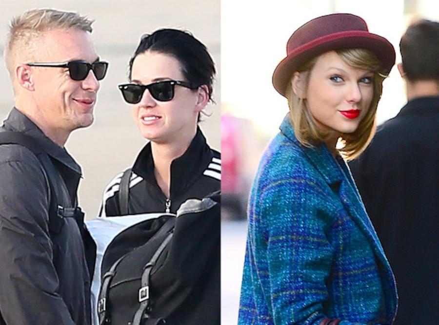 Katy Perry, Diplo, Taylor Swift