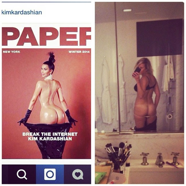 Kim Kardashian, Chelsea Handler, Paper Magazine