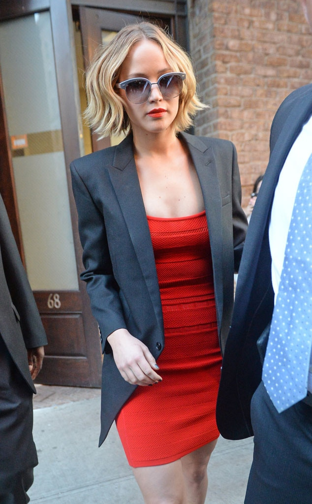 Jennifer Lawrence, Late Show, New York