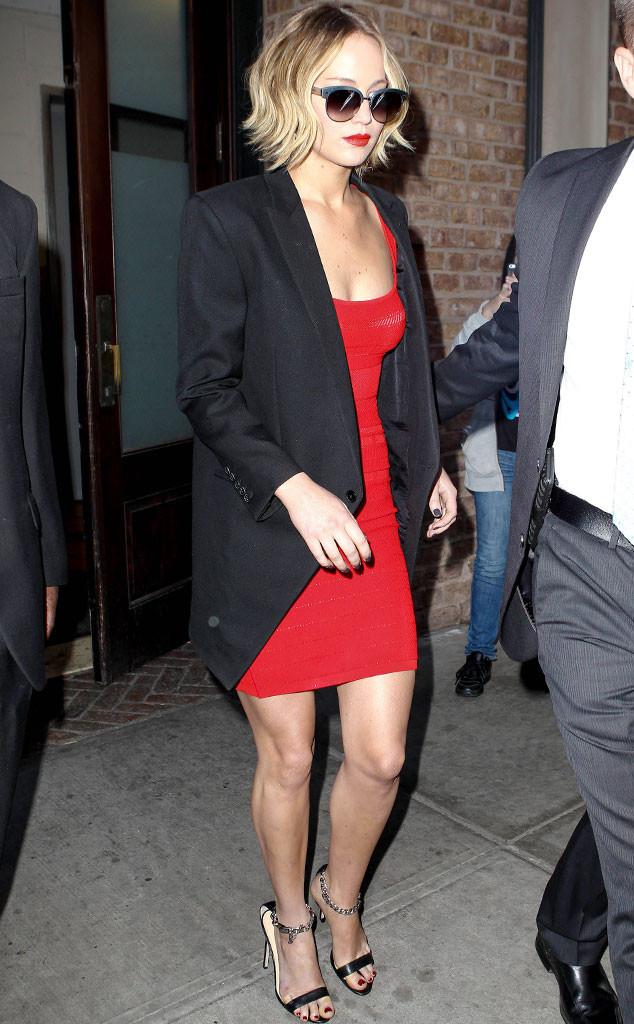 Jennifer Lawrence, Late Show, New York
