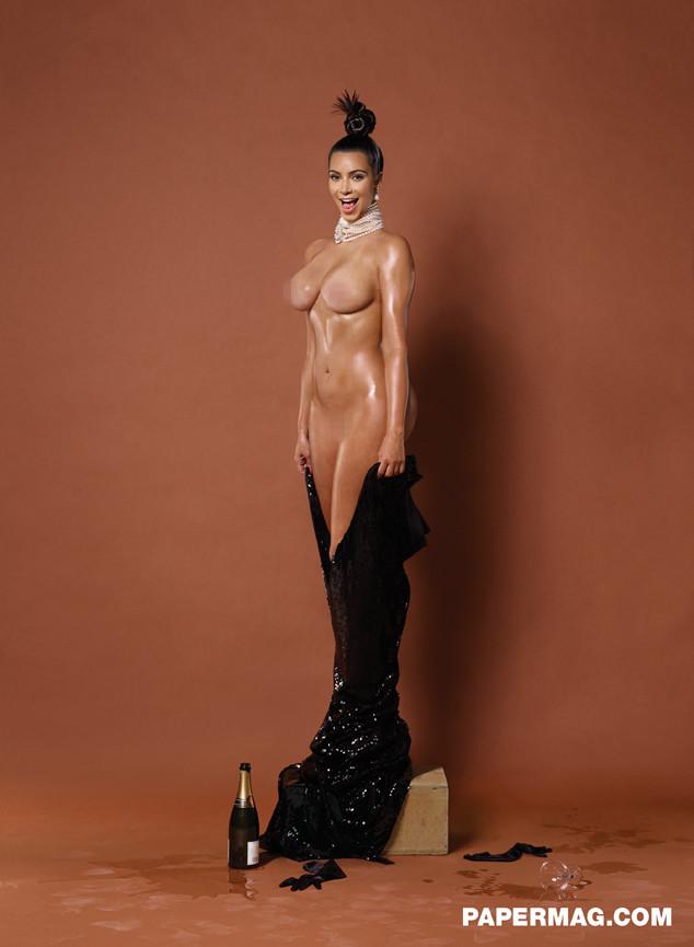 Kim Kardashian, Paper Magazine