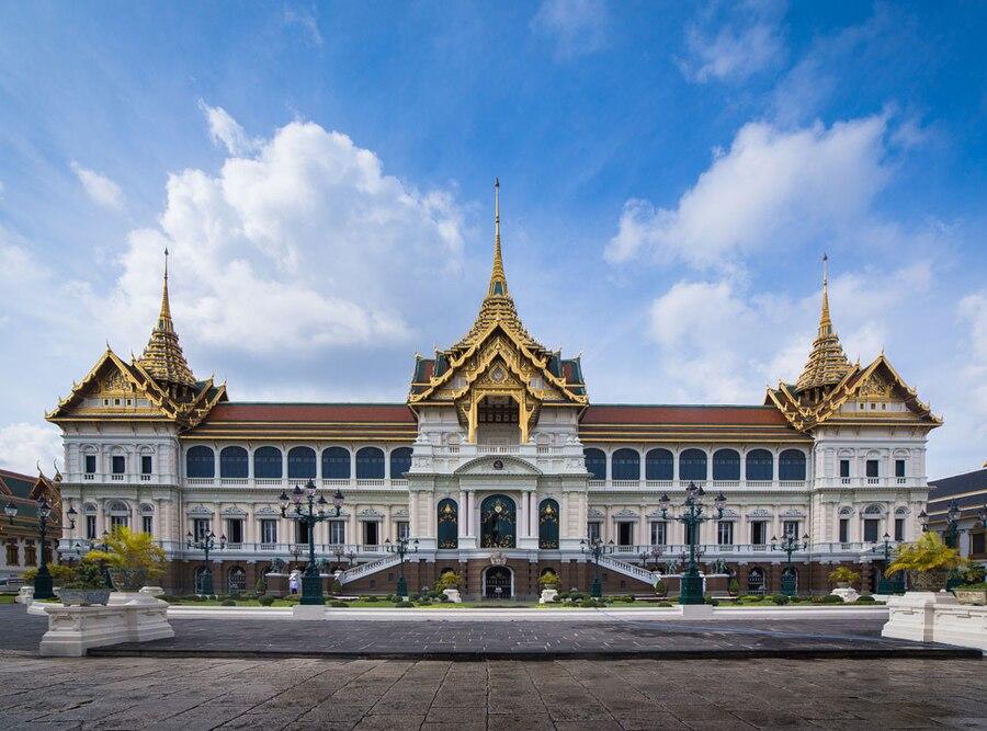 Chakri Maha Prasat, Grand Palace Bangkok Thailand