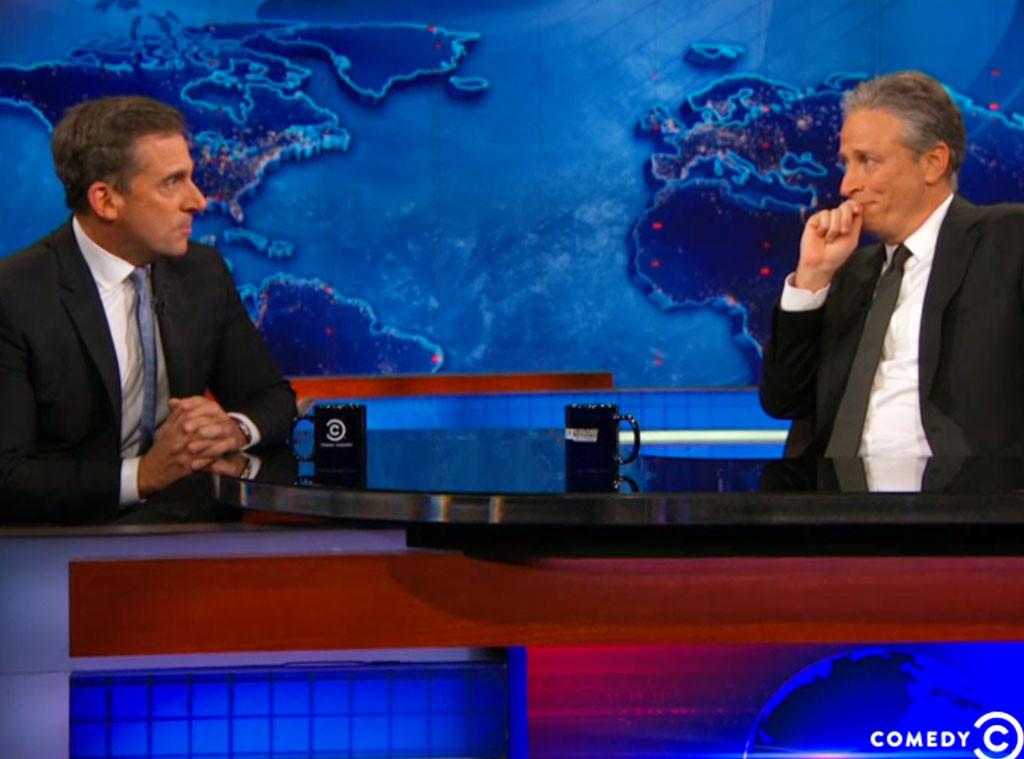 Steve Carell, Jon Stewart, The Daily Show