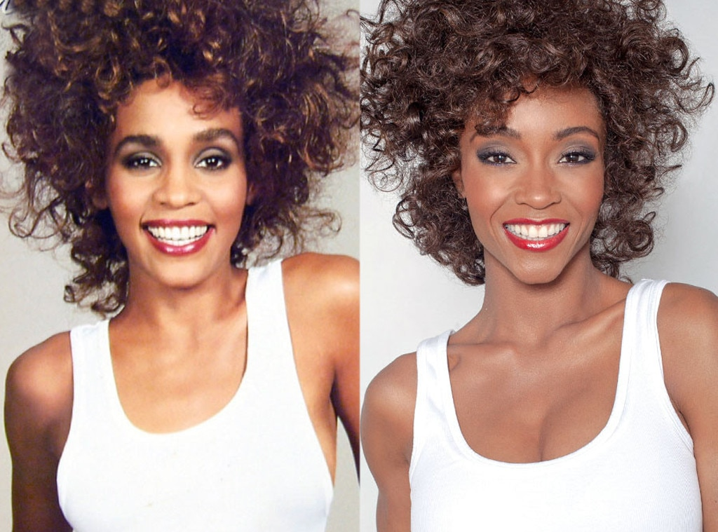 Yaya DaCosta  Whitney Houston  Stars Playing Real People. Whitney Houston Lifetime TV Movie Condemned by Sister in Law and