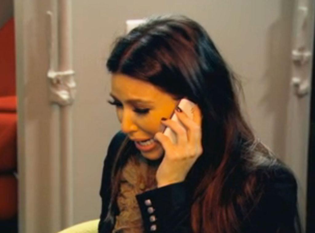 Kim Kardashian, Crying