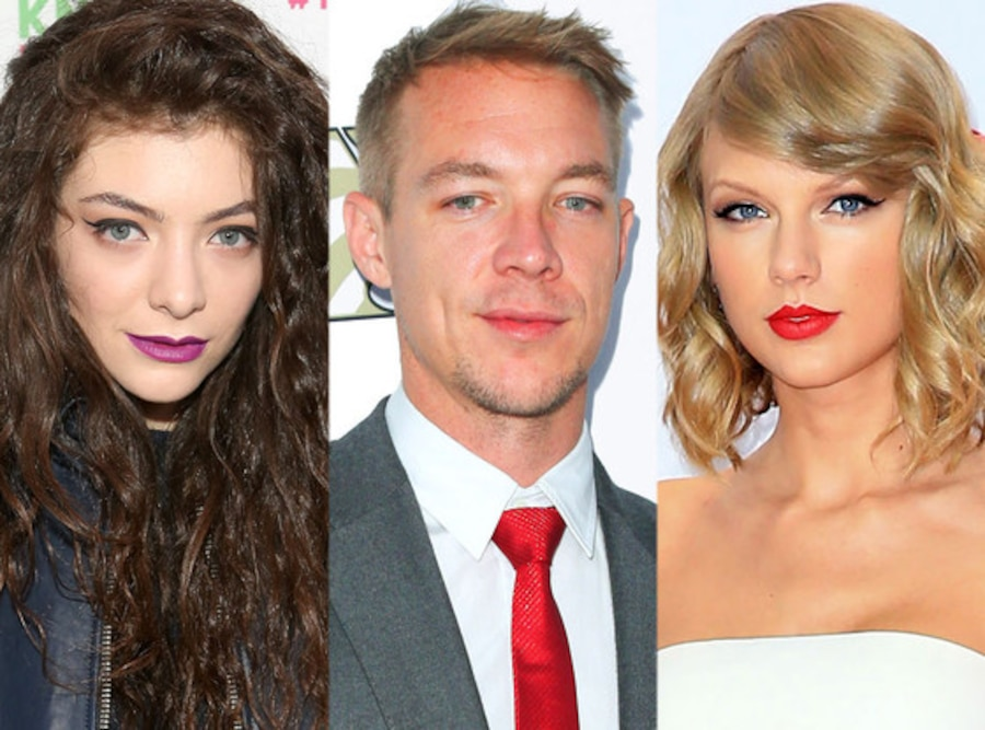 Lorde, Diplo, Taylor Swift