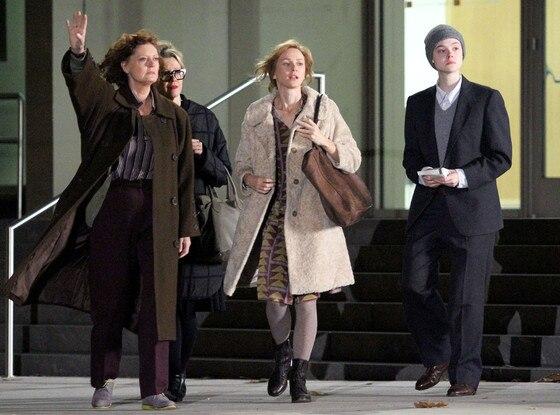Susan Sarandon, Naomi Watts, Elle Fanning