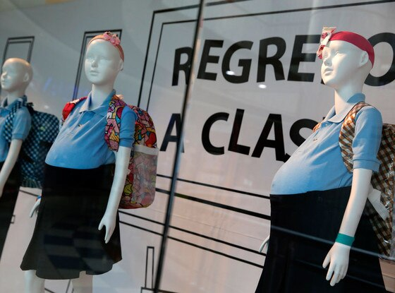 Pregnant Teen Mannequins