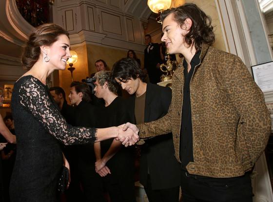 Catherine, Duchess of Cambridge, Kate Middleton, Harry Styles