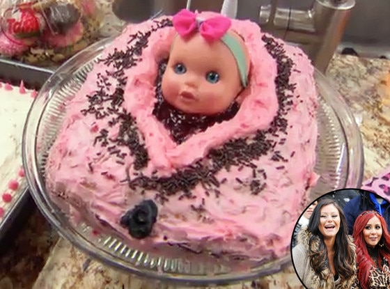 snooki reveals her vagina cake for jwoww 39 s baby shower how do