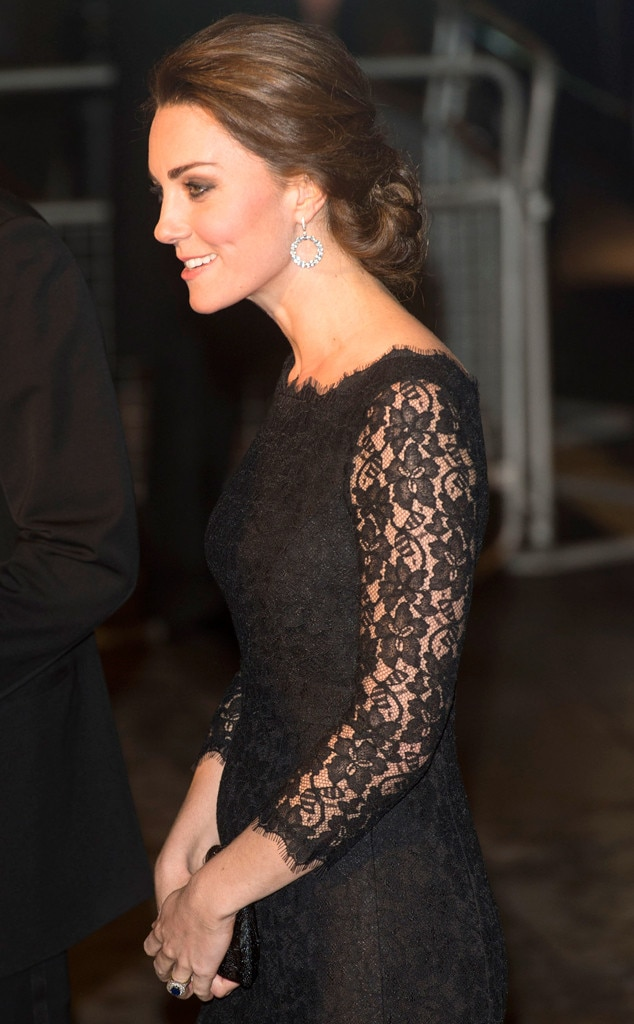 Kate Middleton And Prince William Attend Charity Gala In