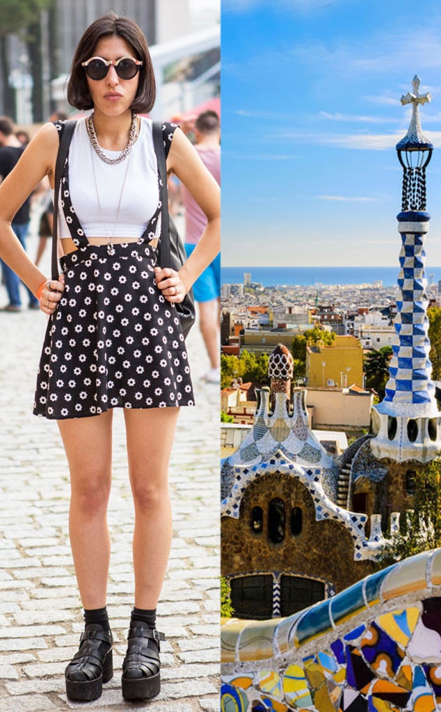 Barcelona, Fashion Inspirations