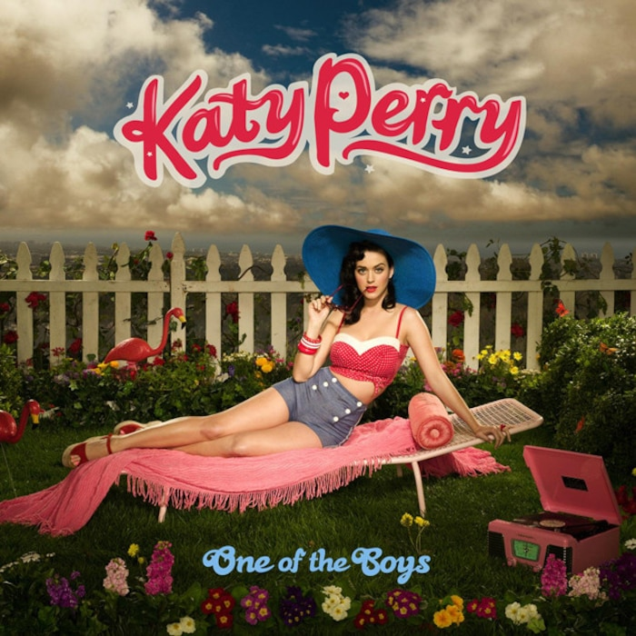 Katy Perry, One of the Boys Cover