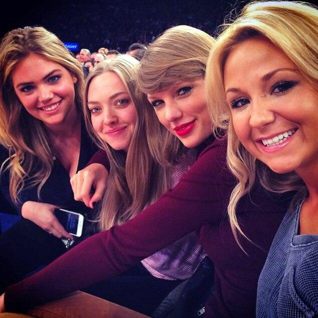 Kate Upton, Amanda Seyfried, Taylor Swift, Knicks Game