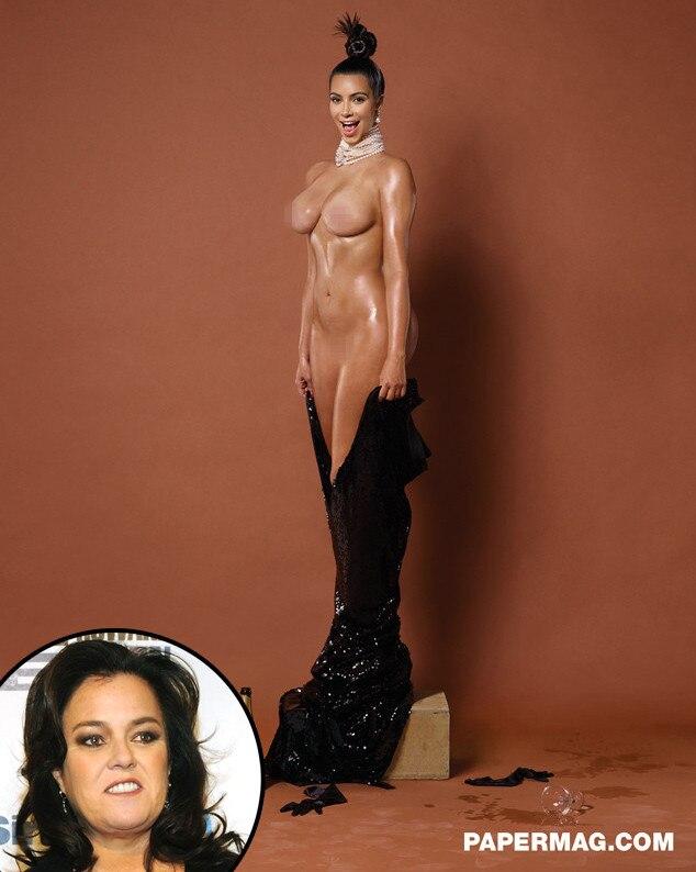 Kim Kardashian, Rosie O'Donnell