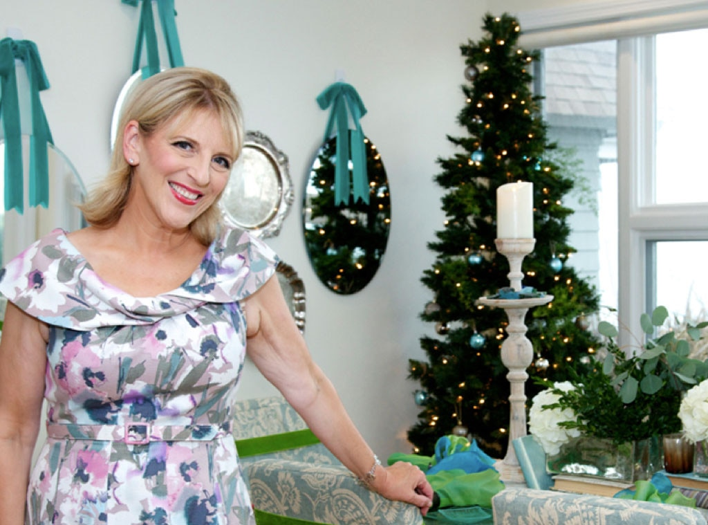 Holiday Decor, Celeb Style, Lisa Lampanelli