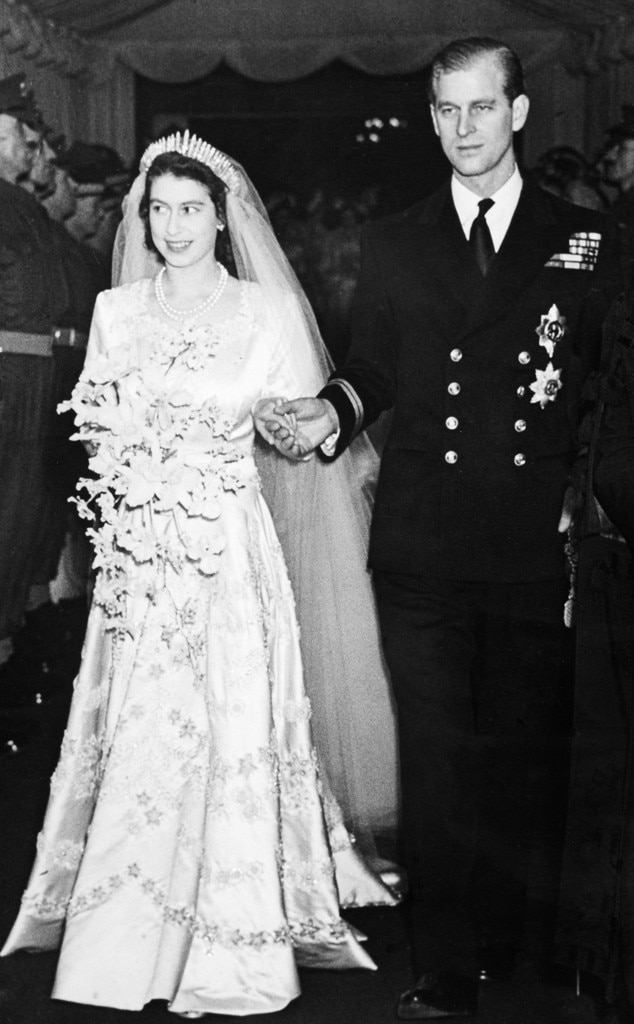 Queen Elizabeth Ii From Celeb Wedding Dresses E News