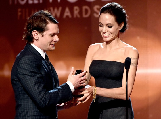 Jack O'Connell, Angelina Jolie