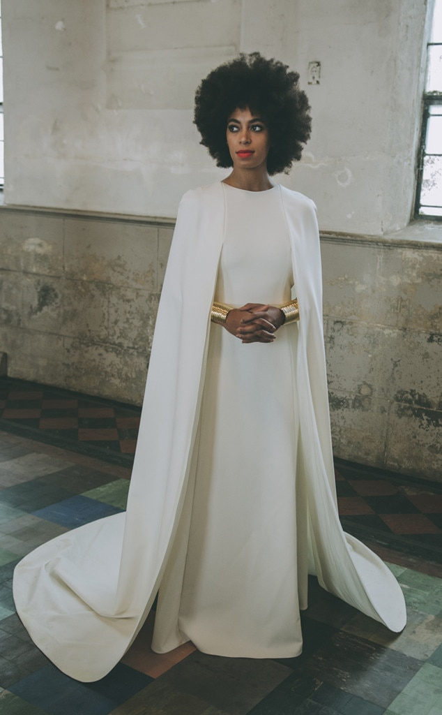 solange knowles39 wedding dress revealed see what the With solange knowles wedding dress