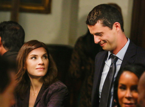 Matthew Goode, Julianna Margulies, The Good Wife