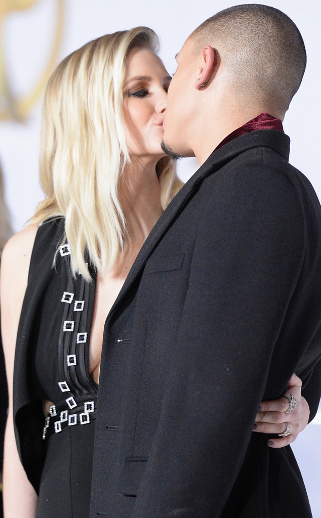 Ashlee Simpson, Evan Ross, Mockingjay Premiere